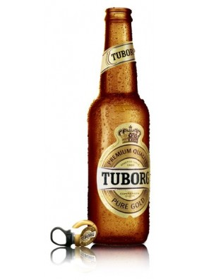 Tuborg Gold Beer Brewed in Turkey 12x500ml