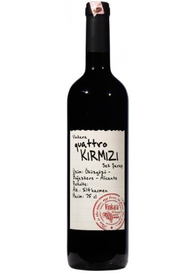 Vinkara Quattro Kirmizi 2013 - 75cl